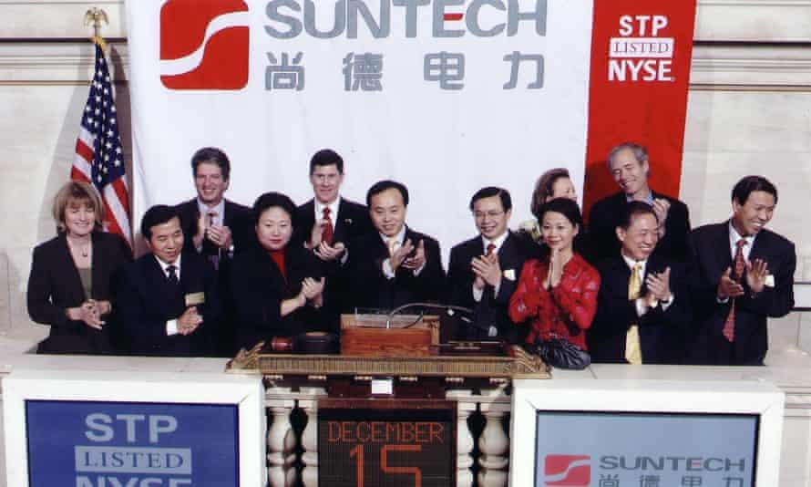Suntech at stockexchange